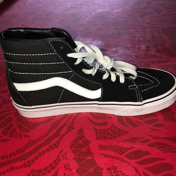 vans tall shoes